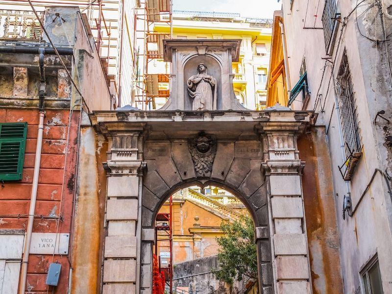 Genova caruggi
