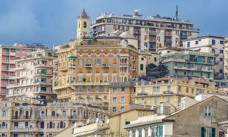 Genova vista panoramica