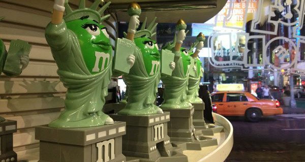 M&M's store a New York, in Time Square