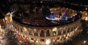 Concerti all'Arena di Verona, estate 2014