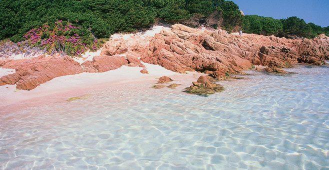 Arcipelago La Maddalena, spiagge rosa in Sardegna