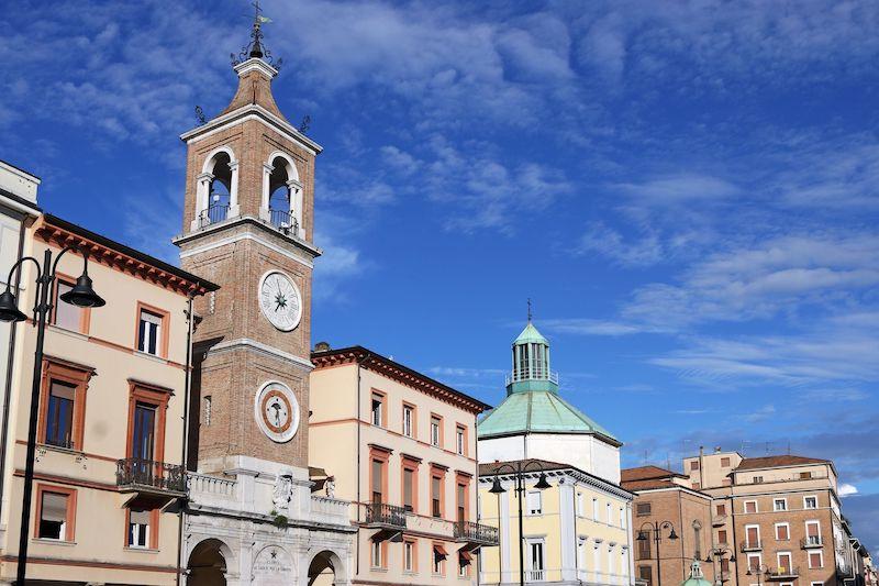 Piazza Tre Martiri Rimini