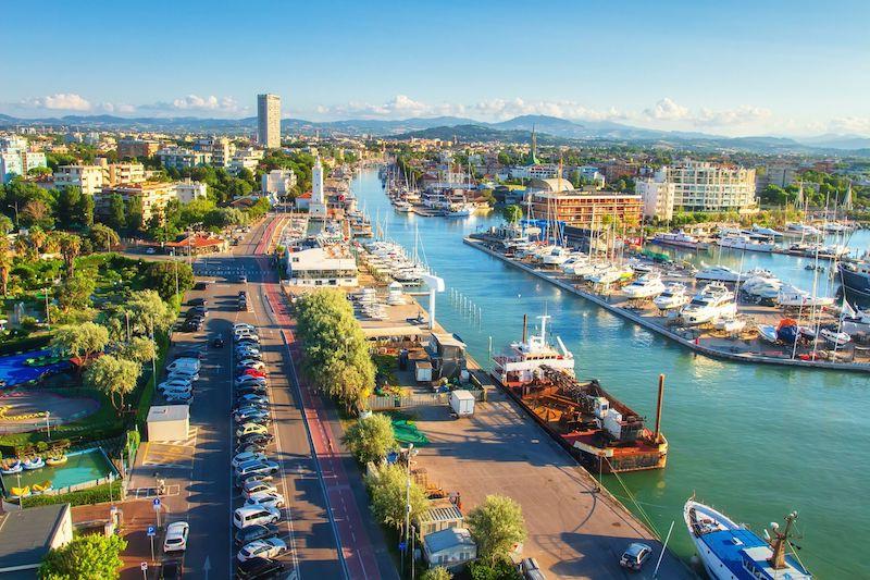 Rimini dall'alto
