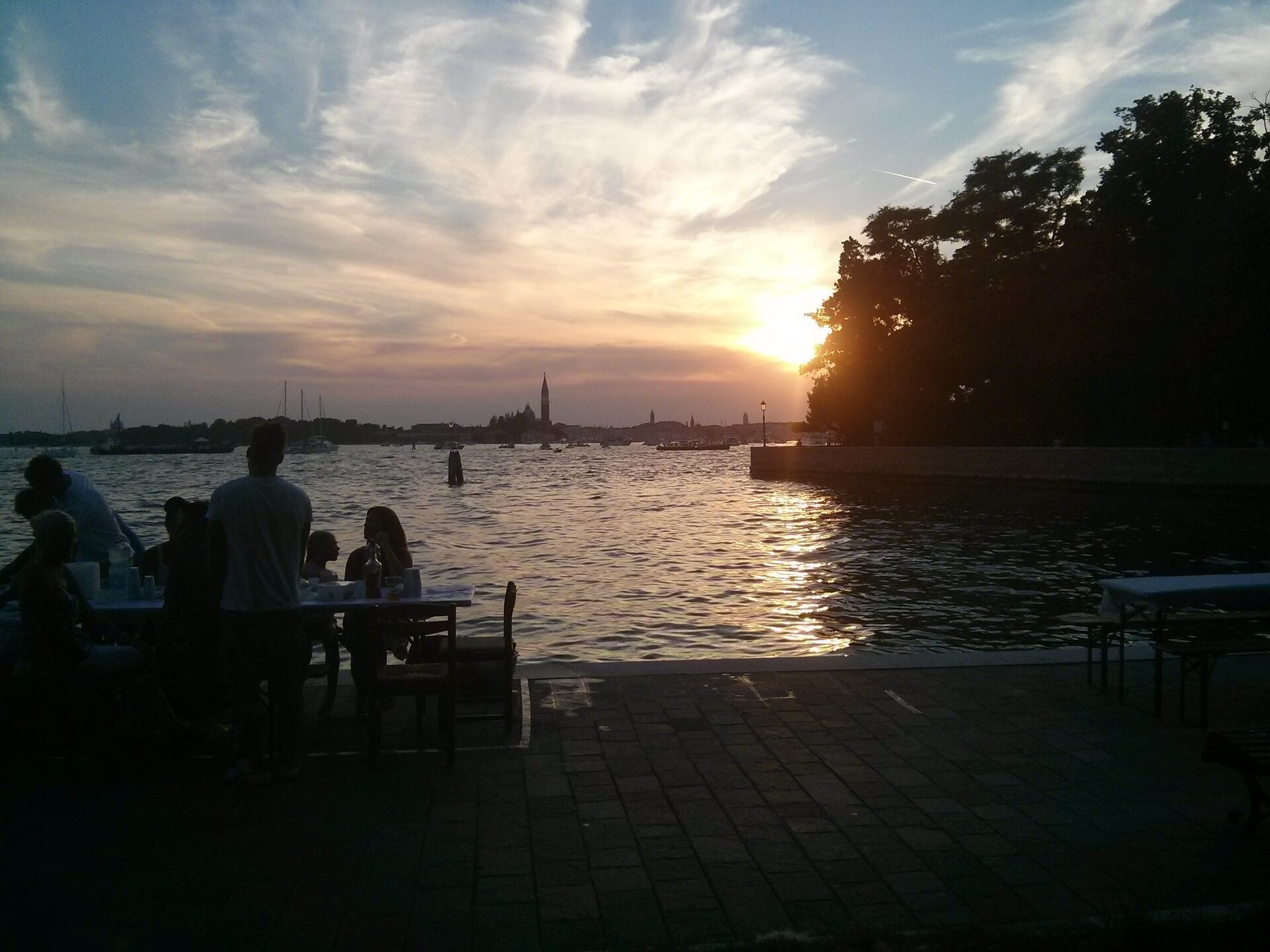 venezia-tramonto