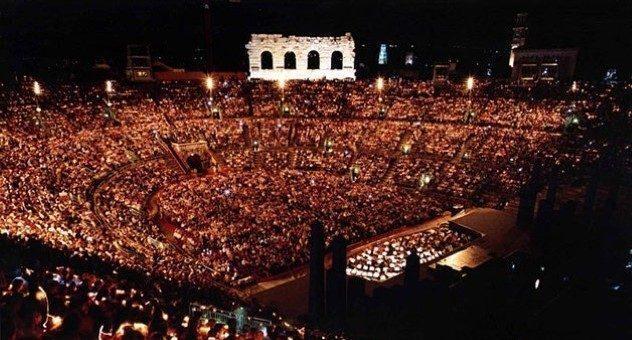 Arena di Verona 2014: tutti gli eventi