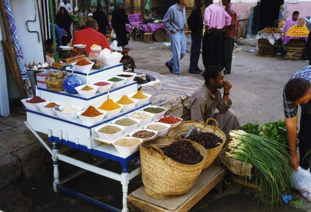 Aswan, souq
