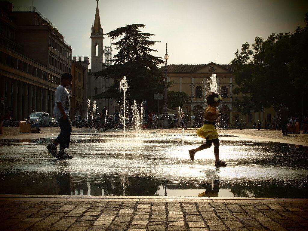 Piazza dei Teatri Reggio Emilia