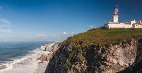 Da Lisbona a Cabo da Roca sull'oceano Atlantico