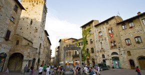 Il primo viaggio in tre in Toscana