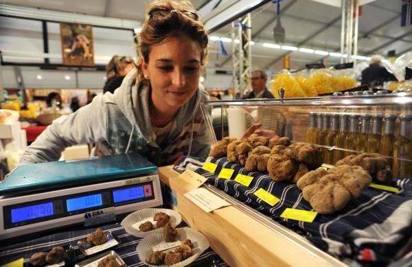 Il mercato mondiale del tartufo bianco ad Alba