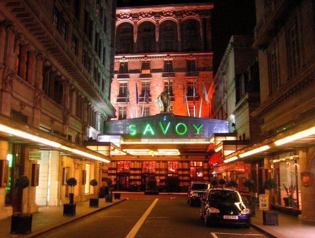 londra-The Savoy Hotel