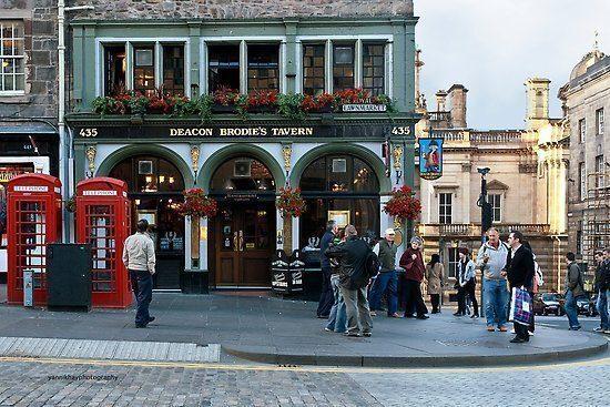 scozia-Deacon Brodie's Tavern