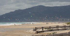 Costa de la Luz, la Spagna, le spiagge, il vento