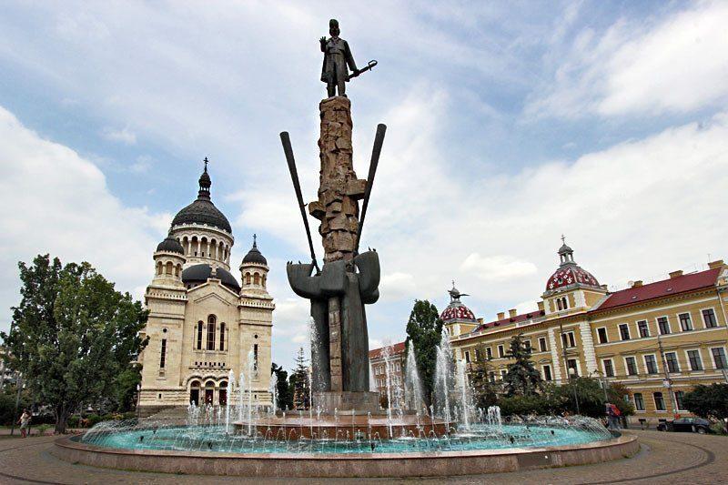 Cluj-Napoca-fontana