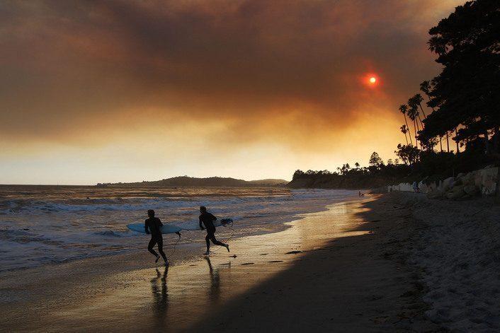 Early Season Wildfire Threatens Santa Barbara