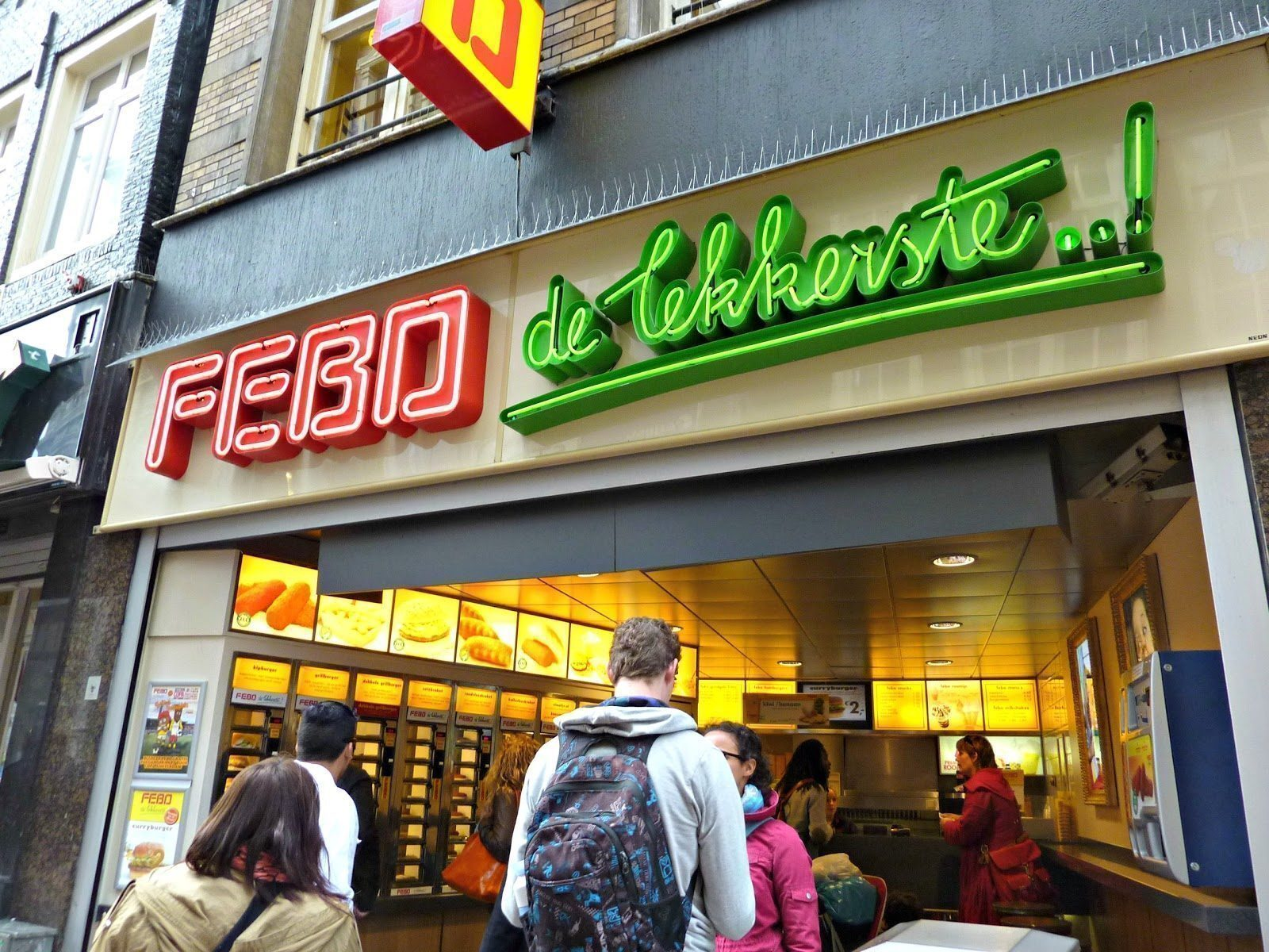 Amsterdam mangiare nei distributori automatici for Amsterdam mangiare