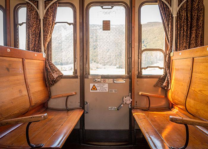 Transiberiana treno interni