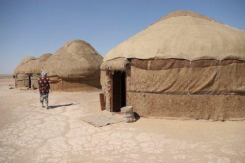 Ayaz-Kala camp
