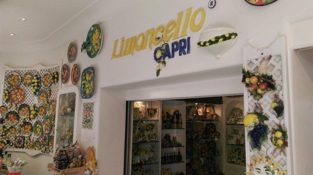 Limoncello Capri