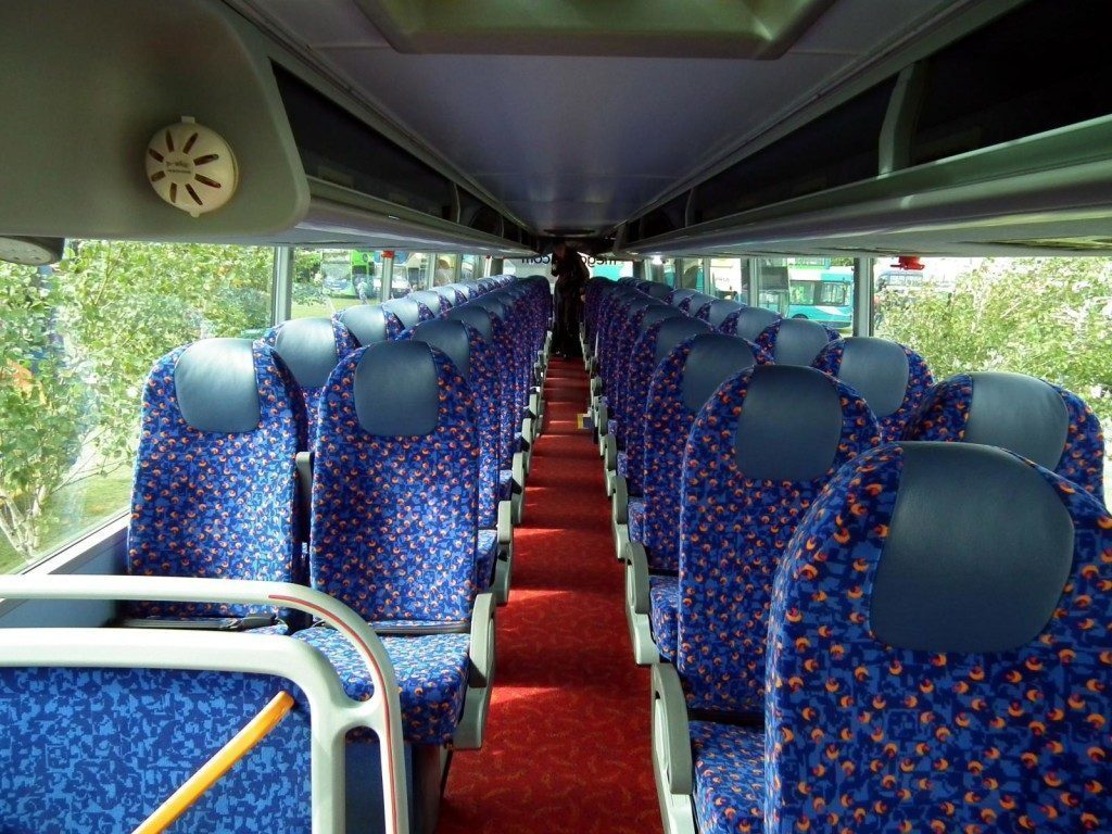 Megabus interno