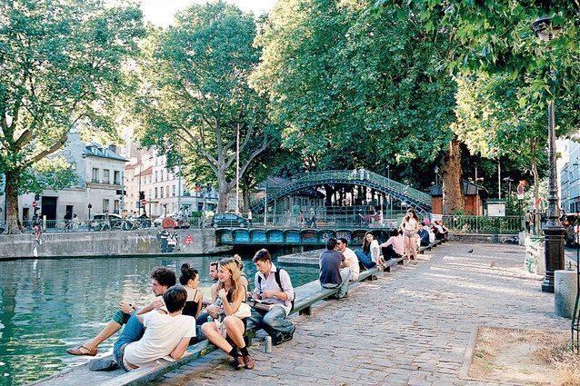 parigi-Canal Saint-Martin