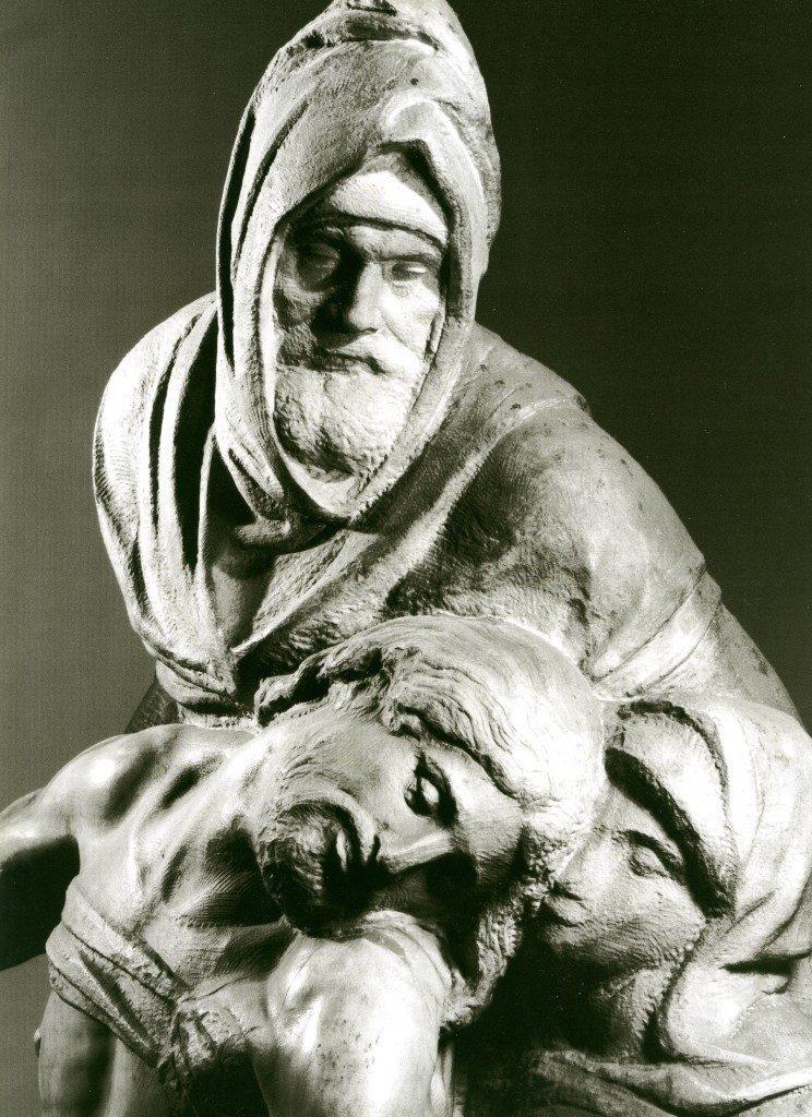 Michelangelo Pietà courtesy Museo dell'Opera del Duomo Firenze, FOTO Aurelio Amendola