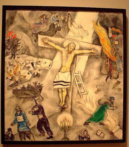 Crocifissione bianca
