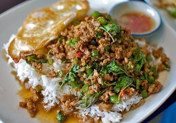 bangkok-Pad Kra Pao Gai
