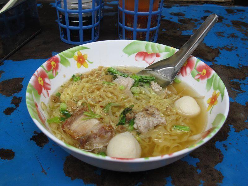 bangkok-Zuppa di noodles