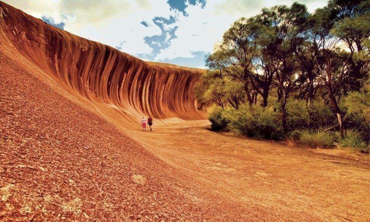 perth-Wave Rock