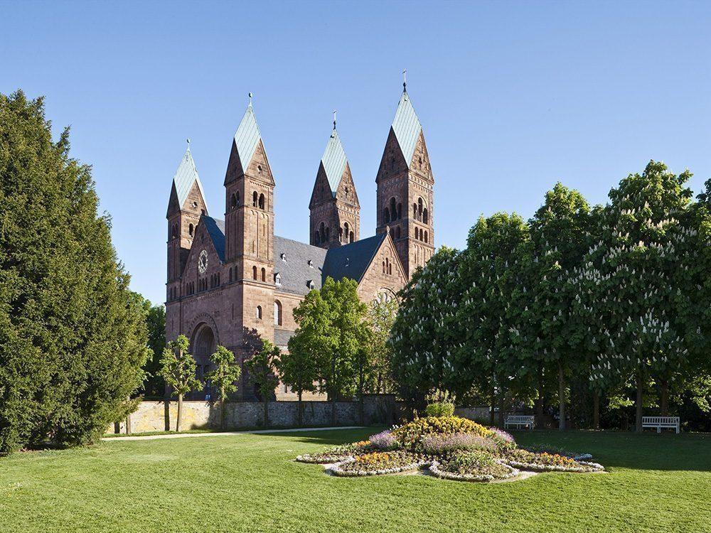 Bad Homburg-chiesa