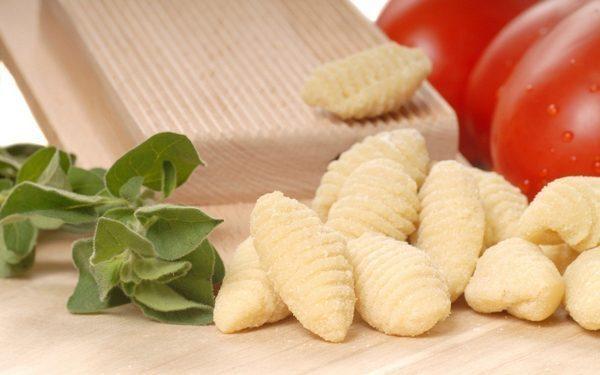 Freshly made Gnocchi