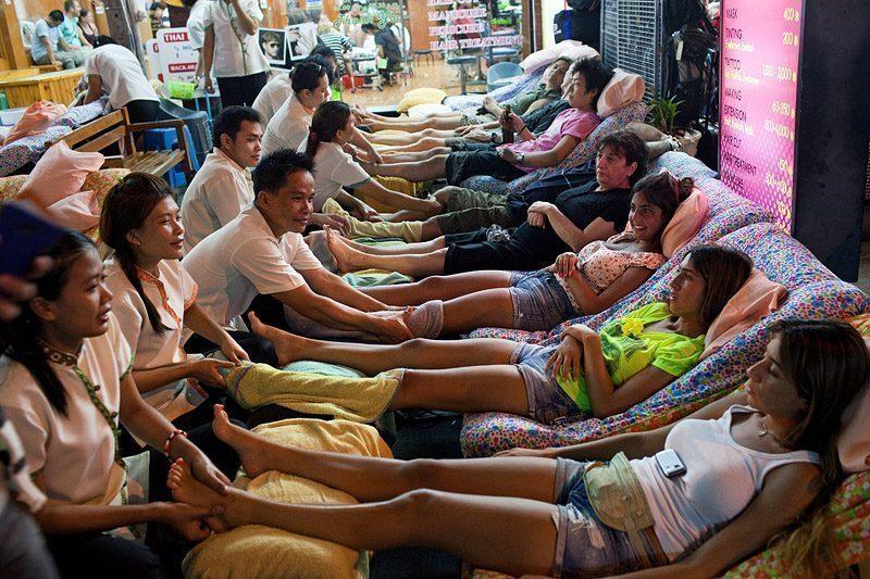 Khao San Road, Bangkok, Thailand.