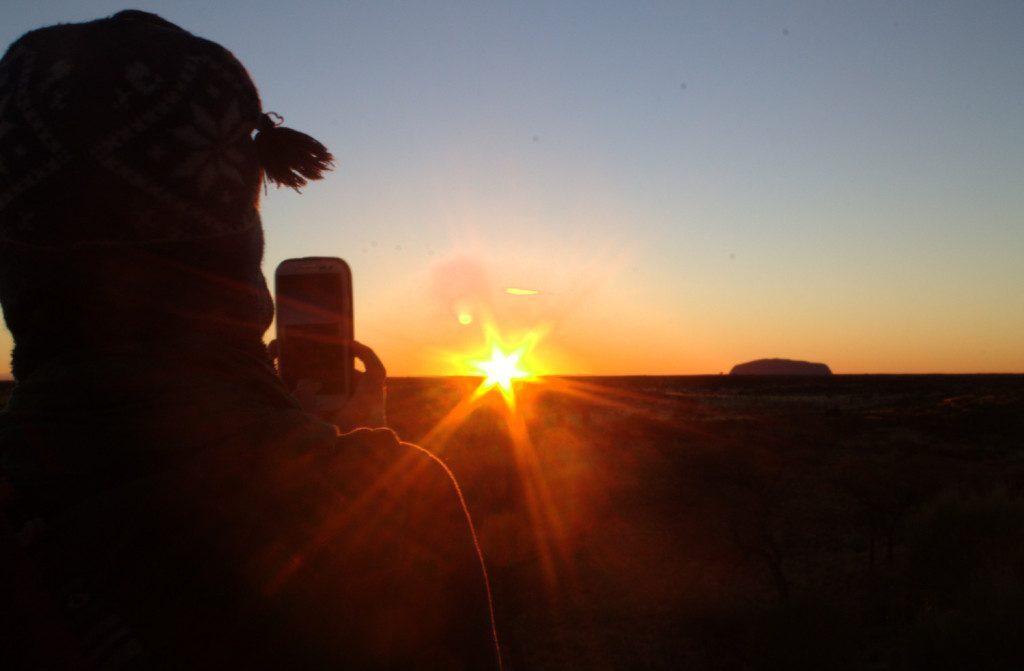 australia-tramonto-uluru