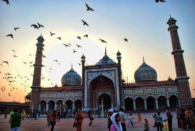 delhi-Grande Moschea Masjid