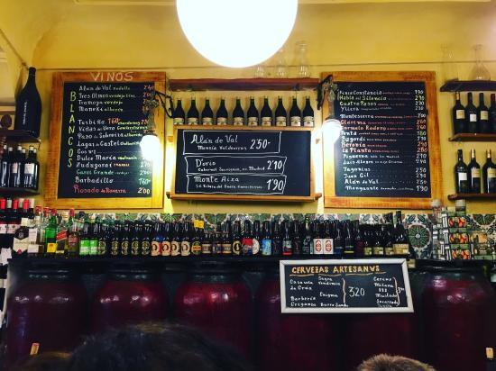 madrid-tapas-Almacen de Vinos Taberna Casa Gerardos