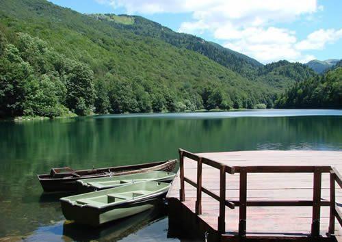 montenegro-Parco Nazionale Biogradska Gora-barche
