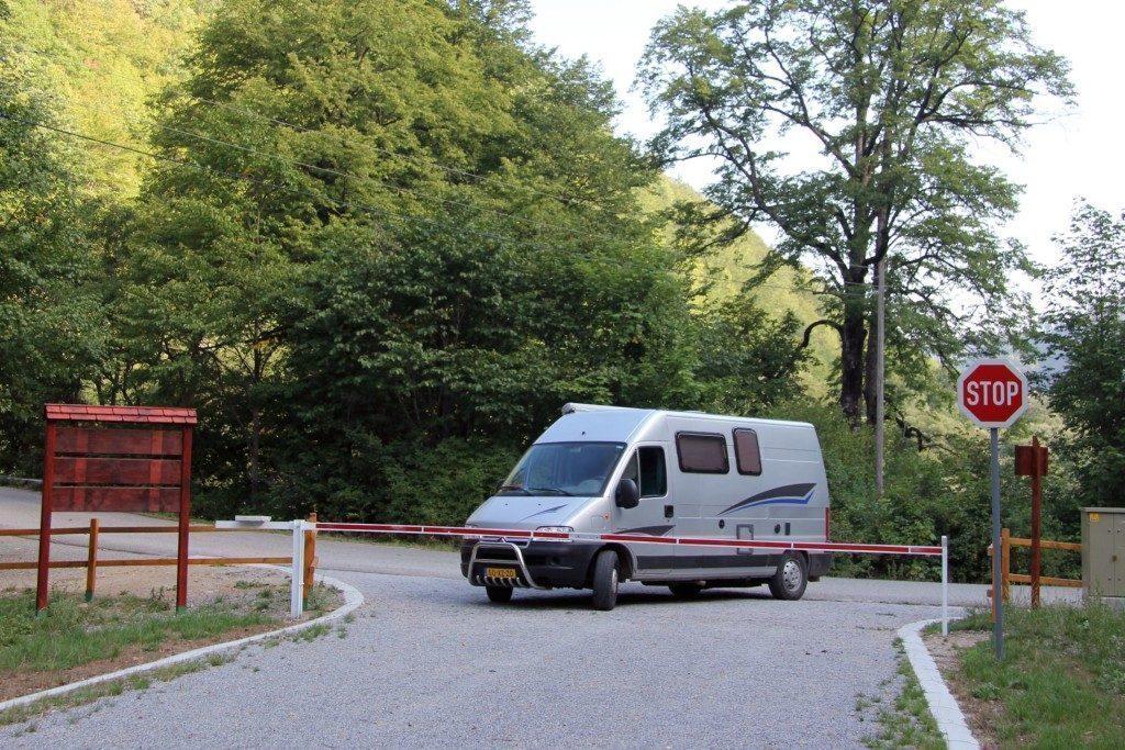 montenegro-Parco Nazionale Biogradska Gora-ingresso