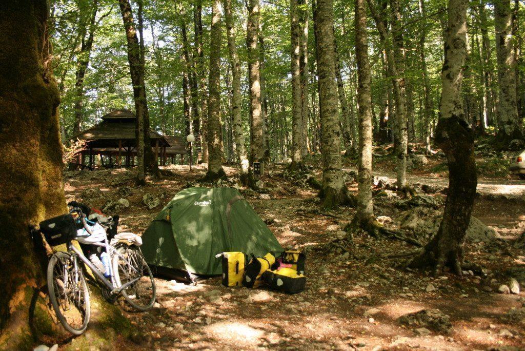 montenegro-Parco Nazionale Biogradska Gora-tenda