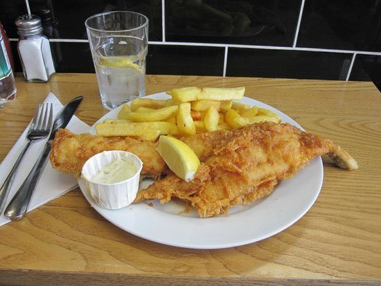 londra-Baileys fish and chips