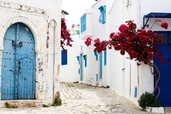 tunisia-Sidi Bou Said-foto