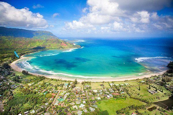 hawaii-Hanalei Bay