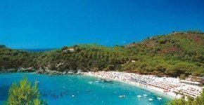 Vacanze all'Isola d'Elba: la spiaggia di Cavo