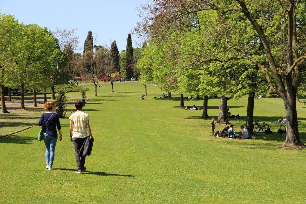 Parco Giardino Sigurtà - Grande tappeto erboso