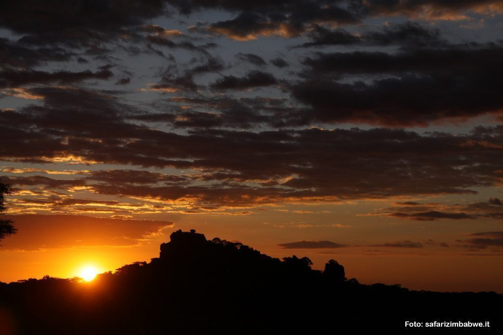 Tramonto Zimbabwe