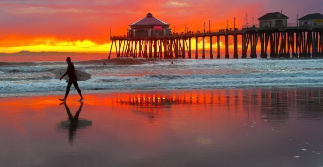 Surf trip in California, le onde perfette