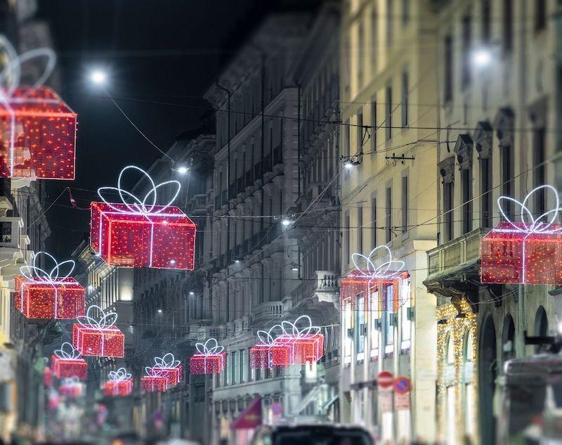 Milano luminarie Natale