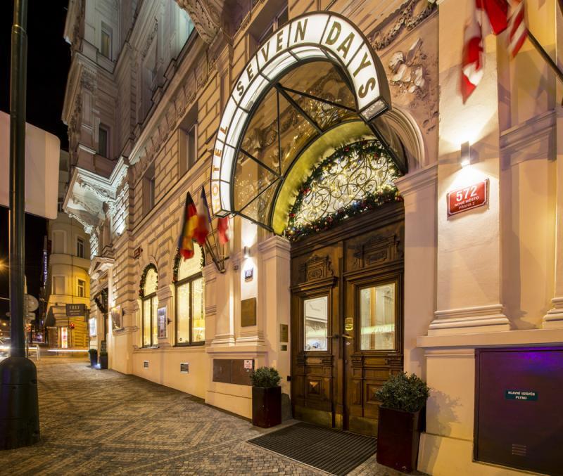 Praga dove dormire recensione del boutique hotel seven days for Boutique hotel seven days prague