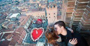 Verona, un itinerario romantico