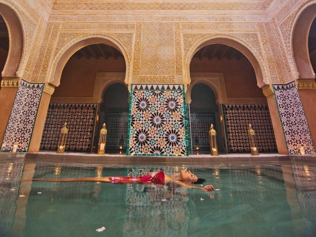 Hammam al andalus spa in stile arabo nel cuore di malaga for Salle de bain hammam